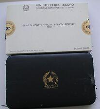 """REPUBBLICA ITALIANA ISTITUTO POLIGRAFICO ZECCA SERIE PROOF """"GOLDONI"""" 1993  #3#"""
