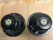 """2 Ted Weber Alnico 8"""" Guitar Speakers / 16 ohms 30 watts each / For Champ etc."""