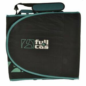 Full & Cas 8' Black/Turquoise Surf Funda Tabla
