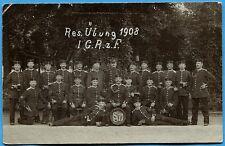 CPA Photo: Soldats du 1° Garde-Regiment zu Fuß / Allemagne / 1908