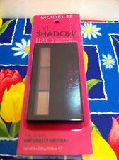 Model Co Eye Shadow Trio - Naturally Neutral - Palette 01 - Eye Shadows & Brush