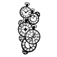 Stamperia Mix Media Thick Stencil – Clocks New KSTDL01