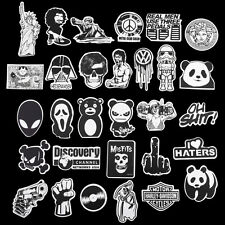 Graphics Decal Vinyl Car Skate Skateboard Laptop Luggage Emblems 100pcs Sticker