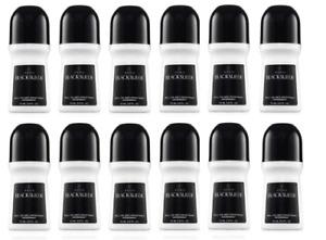 Avon Black Suede Roll-On Anti-Perspirant Deodorant Bonus Size 2.6 Oz PACK OF 12