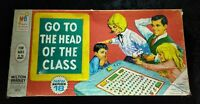 Vintage 1967 GO TO THE HEAD OF THE CLASS Board Game 4175 Milton Bradley