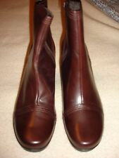 Clarks Toni ankle boots dark brown size 10 M NWOB
