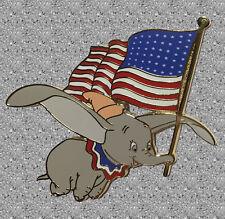 Dumbo American Flag Pin - DISNEY AUCTIONS LE 500