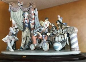 Lladro Circus Time Figurine #1758 - Limited Edition