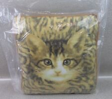 New Cute Pet Kitten Double Sided Soft Display Pillow 35cm Square Cat Cushion