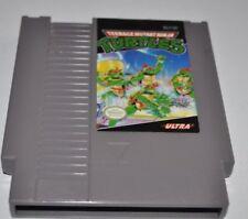TEENAGE MUTANT NINJA TURTLES TMNT Nintendo NES Video Game Tested