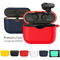Pouch Flexible Shell Protective Cover Silicone Case For Sony WF-1000XM3