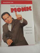 Monk Series six DVD set