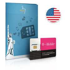 Prepaid SIM card USA - 10GB 4G/LTE DATA - Unlimited calls & texts within the USA