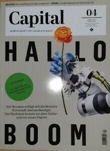 Capital 04 2021  neu und   ungelesen