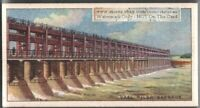 Vaal River Barrage Reservoi South Africa  90+ Y/O Ad Trade Card