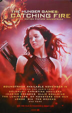 HUNGER GAMES CATCHING FIRE SOUNDTRACK POSTER  (J6)