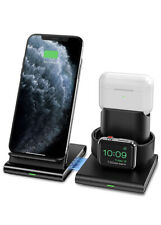 3 in 1 Wireless Charging Charging Dock Station for Apple Airpods iPhone Watch