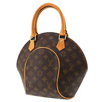 LOUIS VUITTON Ellipse PM Hand Bag Brown Monogram M51127 France Authentic #NN413