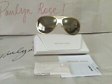 Michael Kors Sunglasses Clementine1 Satin Gold NEW