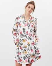 Joules Womens Verity Night Shirt - Cream Floral