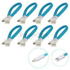 8 X Imán Plano Micro USB Data Sync Cargador Cable Para XPERIA Z1 Z2 Z3 C3 Nuevo