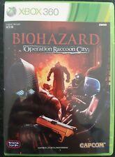 Japanese Xbox 360 Biohazard Operation Racoon City Capcom