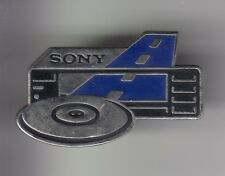RARE PINS PIN'S .. TV RADIO MUSIQUE JAPON SONY FRANCE AUTORADIO CD LASERDISC ~DO
