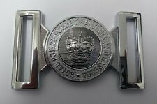 Genuine Police Force of Antigua & Barbuda Silver Belt Buckle Chrome Locket MFB18