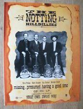 The Notting Hillbillies - 1990 - MUSIC PRESS ADVERT POSTER 30 X 22 CM - Knopfler