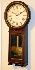 Rare Arthur Pequegnat Regulator No. 1.  Antique Canadian Clock
