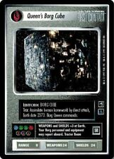 Star Trek: Queen's Borg Cube [Moderately Played] First Contact STCCG Decipher 1E