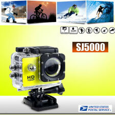 1080P Ultra Hd Waterproof 30M Action Camera Sports Camcorder Record Bracket Set