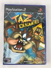 PS2 Taz Wanted (2002), UK Pal, Brand New & Factory Sealed
