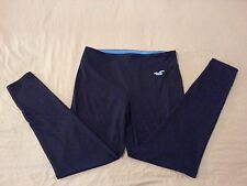 Womens Hollister Pants L Large Navy Blue Athletic