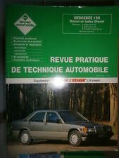 Mercedes Série 201 190 Diesel Turbo D : revue technique EA 2971