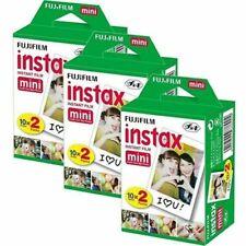 Fujifilm Instax Mini Pellicola Film 60 Scatti 20X3