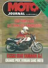 MOTO JOURNAL N°459 350 YAMAHA RDLC / 650 YAMAHA XJ / 125 MONTESA H6 / BURGAT