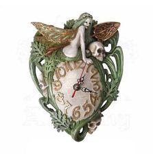 Alchemy Gothic artemesia absinthium ASSENZIO Fata Foresta resina orologio da parete