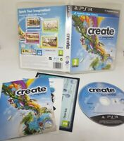 Create PS3 Playstation 3 (Move Compatible) **FAST FREE UK POSTAGE**