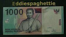 INDONESIA 1000 RUPIAH 2008 UNC P-141i