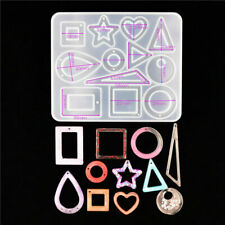 Silicone Earring Pendant Mold Jewelry Resin Mould Casting Craft Epoxy DIY Tool