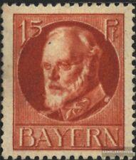 Bayern 115A postfrisch 1916 König Ludwig III