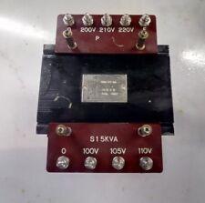 Fanuc Transformer #(TKB-77-BB) PRI-(200V,210V,220V) SEC-(100V,105V,110V)1.5KVA