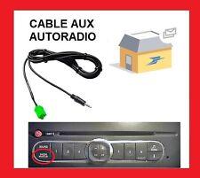 cable jack aux 3.5 autoradio RENAULT MEGANE 2 CLIO 2 3 KANGOO ESPACE SCENIC 2