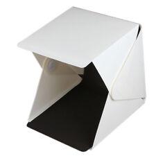 "Light Room Photo Studio 9"" Photography LED Lighting Tent Backdrop Mini Box"