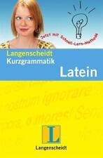 Kurzgrammatik Latein von Linda Strehl (2011, Taschenbuch)