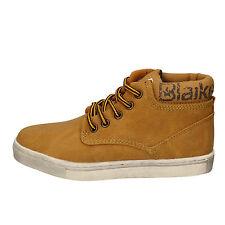 scarpe bambino BLAIKE 33 EU sneakers giallo pelle AD702-D