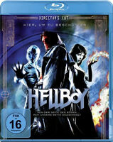 Blu-ray * HELLBOY (DIRECTOR'S CUT) - Ron Perlman , Selma Blair # NEU OVP