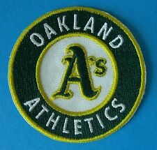 (2) Oakland Athletics Embroidered Team Logo Patches (Logo for 1993 - Present)