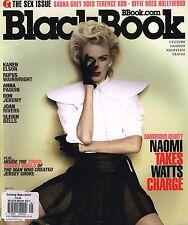 BLACK BOOK #76 NAOMI WATTS Karen Elson RUFUS WAINWRIGHT Anna Paquin TERENCE KOH